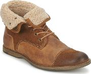 Casual Attitude , Axeme Men's Mid Boots In Brown