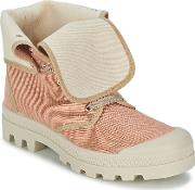 Casual Attitude , Bopessa Women's Shoes (high-top Trainers) In Pink