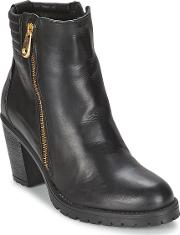 Casual Attitude , Ele Women's Low Ankle Boots In Black