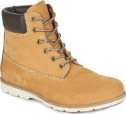 Casual Attitude , Gloril Men's Mid Boots In Yellow