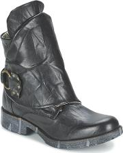 Casual Attitude , Guloire Women's Mid Boots In Black