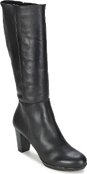 Casual Attitude , Inil Women's High Boots In Black