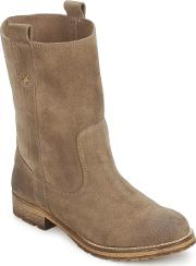 Casual Attitude , Mooko Women's Mid Boots In Brown