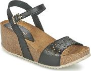 Casual Attitude , Sokilo Women's Sandals In Black