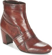 Chie Mihara , Salaw Women's Low Ankle Boots In Brown