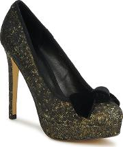 Chinese Laundry , Work It Out Women's Court Shoes In Gold