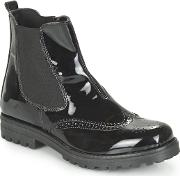 Citrouille Et Compagnie , Fraisier Girls's Shoes (high-top Trainers) In Black