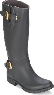 Colors Of California , Classic Tall Women's Low Ankle Boots In Black