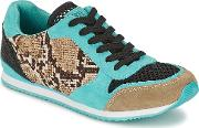 Colors Of California , Run Women's Shoes (trainers) In Multicolour