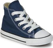 Converse , All Star Hi Girls's Shoes (high-top Trainers) In Blue