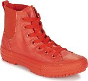 Converse , Chuck Taylor All Star Chelsea Caoutchouc Hi Women's Shoes (high-top Trainers) In Red