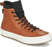 Converse , Chuck Taylor All Star Ii Boot Cuir  Neoprene Hi Women's Shoes (high-top Trainers) In Brown