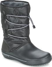 Crocs , Crocband Ii.5 Clinch Boot Women's Low Ankle Boots In Black