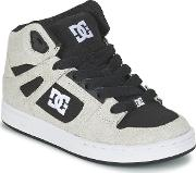 Dc Shoes , Rebound Tx Se B Shoe Xkwk Boys's Shoes (high-top Trainers) In White