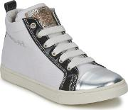 Diesel , Var1 Girls's Shoes (high-top Trainers) In White
