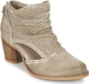 Dkode , Bahal Women's Low Ankle Boots In Beige