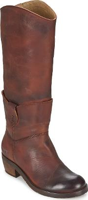Dkode , Indiana Women's High Boots In Brown