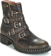 Dkode , Umbria-black-001 Women's Mid Boots In Black