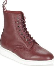 Dr Martens , Whiton Women's Mid Boots In Red