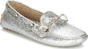 Elia B , Softy Women's Loafers  Casual Shoes In Silver