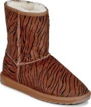 Emu , Stinger Fur Lo Women's Mid Boots In Brown