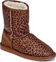 Emu , Stinger Print Lo Women's Mid Boots In Brown