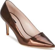 Escada , As707 Women's Court Shoes In Brown