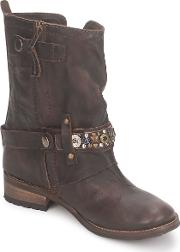 Feud , Crisp Women's Mid Boots In Brown