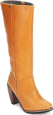 Feud , Light Women's High Boots In Brown