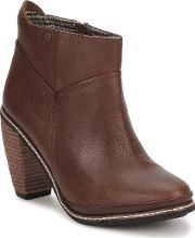 Feud , Light Women's Low Ankle Boots In Brown