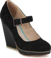 Feud , Whisk Women's Court Shoes In Black