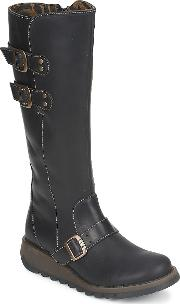 Fly London , Solv Women's High Boots In Black