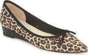 French Sole , Penelope Women's Shoes (pumps  Ballerinas) In Brown
