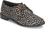 Ftroupe , F-troupe Bow Polka Women's Casual Shoes In Black