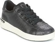 Geox , J Aveup G. A Girls's Shoes (trainers) In Black