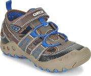Geox , J Sand.kyle A Girls's Sandals In Brown