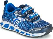 Geox , J Shuttle B.a Boys's Shoes (trainers) In Blue