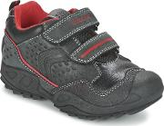 Geox , New Savage Boy Boys's Shoes (trainers) In Black