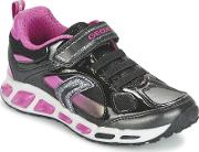 Geox , Shuttle Girl Girls's Shoes (trainers) In Black