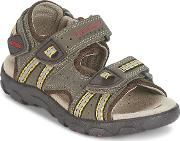 Geox , S.strada A Boys's Sandals In Brown