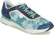 Geox , Sukie B Women's Shoes (trainers) In Blue