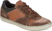Geox , U Box Men's Shoes (trainers) In Brown