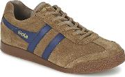 Gola , Harrier Men's Shoes (trainers) In Brown