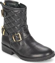 Hip , Ravute Girls's Mid Boots In Black