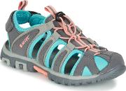 Hitec , Hi-tec Shore Kid Girls's Sandals In Grey
