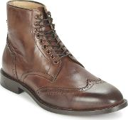 Hudson , Greenham Men's Mid Boots In Brown