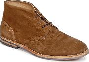 Hudson , Houghton 3 Men's Mid Boots In Brown