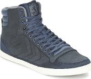 Hummel , Stadil Oiled Hi Men's Shoes (high-top Trainers) In Multicolour