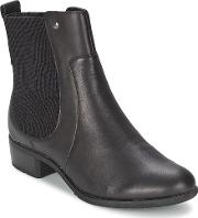 Hush Puppies , Lana Chamber Women's Low Ankle Boots In Black