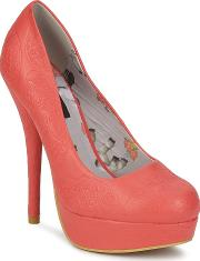Iron Fist , Maneater Platform Women's Court Shoes In Pink